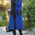 مدل مانتو عید به رنگ سال