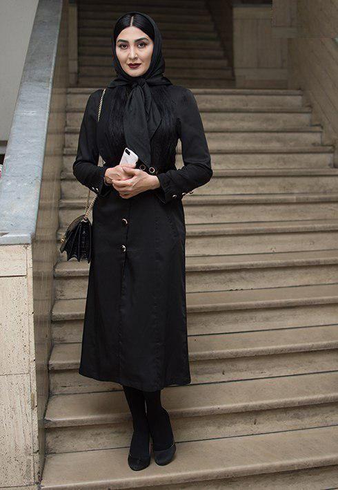 مدل مانتو مجلسی هنرپیشه زن