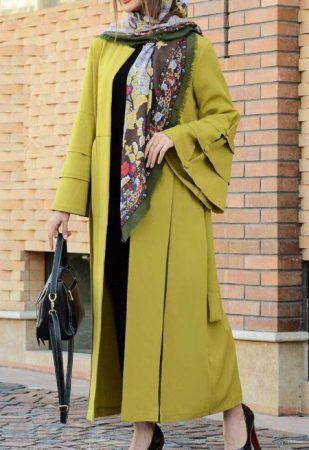 مدل مانتو جلوباز عید