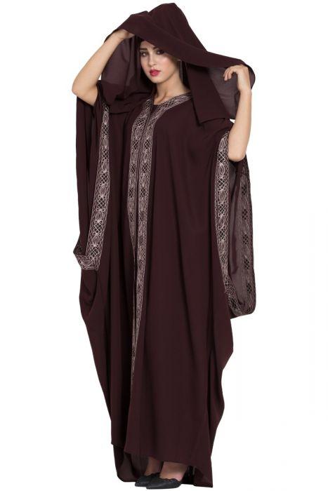 مانتو مدل اماراتی پوشیده دخترانه