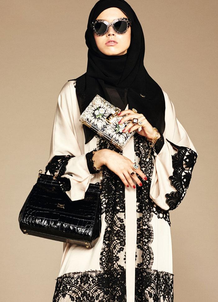 مدل مانتو عربی دخترانه با طرح تور