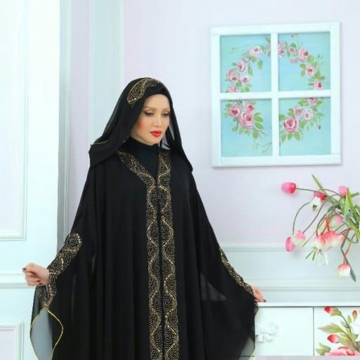 مانتو دخترانه عربی به سبک پوشیده