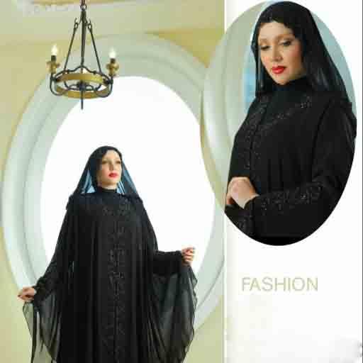 مانتو عربی جدید دخترانه سبک پوشیده