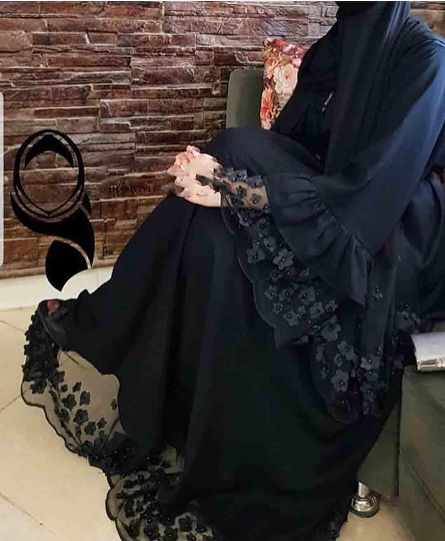 مانتو عربی بلند مجلسی