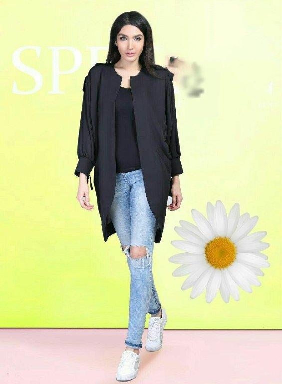 مدل مانتو کتی کوتاه دخترانه